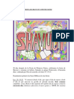 La Fiesta de Shavuot o Pentecostes
