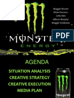 monster marketing plan