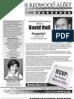 HRWF March 2013 Redwood Alert