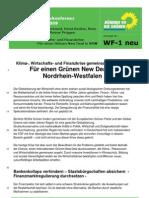 WF-1 Wirtschaft Green New Deal