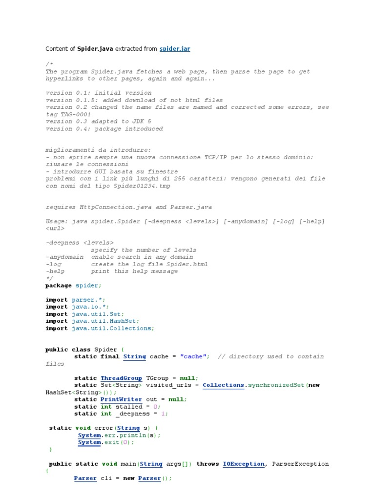 Java Domain Parser