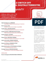 Switch Off e LepidaTV - Evento 9 Marzo 09