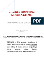 KELAINAN KONGENITAL MUSKULOSKELETAL