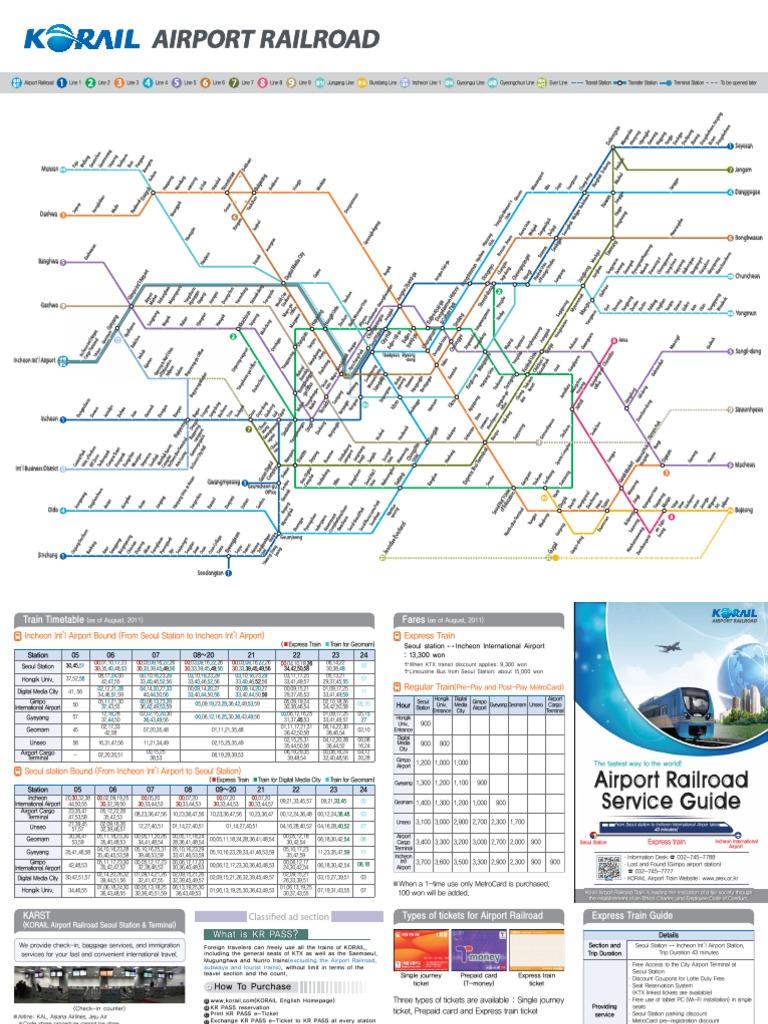 Seoul Station Subway Map.Seoul Subway Map