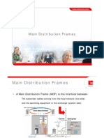 MDF Main Distribution Frames