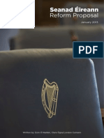 Ógra Fianna Fáil Seanad Reform Proposal