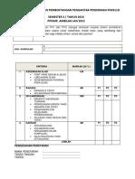 Kriteria Pembentangan Pengantar Pendidikan Pn3311d (1)