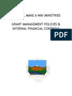 GWMAW Grant Policy