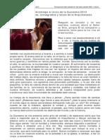 Mensaje de Cuaresma2013 Card Bergoglio