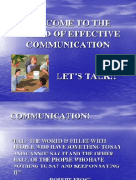 Effective Communication Ppt