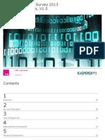 Kaspersky SMB Onderzoek Rapport NL Jan 2013