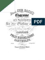 IMSLP22485-PMLP04292-Bach - Chaconne Mendelssohn Accompaniment Piano