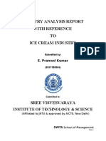 26611817 Industry Analysis on Ice Cream Industry