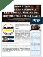 Progetto Consiglio Regionale Elettronico M5S v015 Lazio