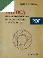 Ghyka, Matila C. - Estética de las Proporciones en la Natura