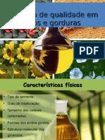 Oleo alimentar -  Controlo