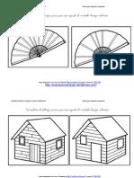 Completa El Dibujo Igual Al Modelo y Colorea Fichas 10 20