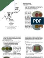 Tentir Praktikum Mikrobiologi 2012 Untan