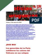 Noticias Uruguayas Viernes 15 de Marzo Del 2013