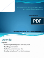 SharePoint Portal Server 2007 - Web Content Management
