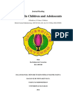 Jurnal Reading Ika Caesarina - Uveitis in Children and Aldoscens