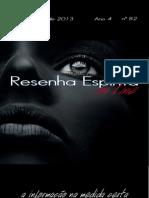 Resenha Espírita on line 82