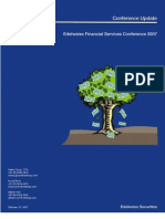 Fiancial Services Conference