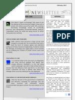 India Transport Portal Newsletter - February, 2013
