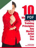 Wing Chun Principles Guide