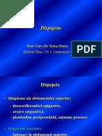 Dispepsia Prof. Dr. Stoica 2013