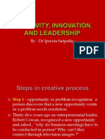 (11)-Creativity,Innovation, And Leadership.