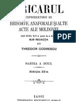 Th. Codrescu - Uricarul, Vol 02 (1404-1852)