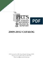 PRTS Catalog 2009-2012