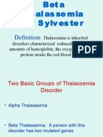 Beta Thalassemia