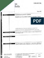 UNE EN 556 001 - Esterilización de productos sanitarios-Requisitos para los productos sanitarios etiquetados como estériles - Mayo 1995