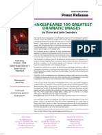"""Shakespeare's""  UK Press Release"