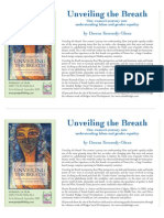 """""""Unveiling the Breath"""" Book Flyer"""