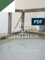 Volume / Sculpture / Installation / Portfolio - Raphael Petitprez - 2013