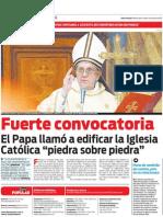Especial Papa Francisco 15-03-2013