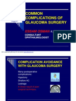 Complication of Glaucoma Surgery