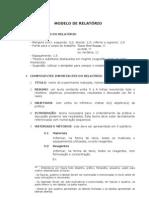 Modelo de Relatorio v1