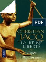 L'Epee Flamboyante - Jacq,Christian