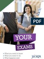 SQA Examination Information