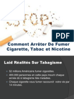Apres Arreter de Fumer Cigarette, Nicotine et Tabac
