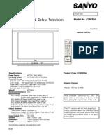 Sanyo C29FS51 Chassis LB6-A Service Manual