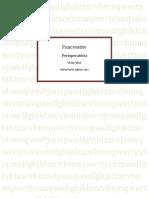 Pancreatite- Perioperatória