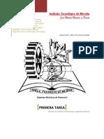 Sistemas Eléctricos de Potencia - Primera Tarea