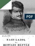Horvát István - Nagy Lajos és Hunyadi Mátyás híres magyar királyoknak védelmeztetések a nemzeti nyelv ügyében 1815.
