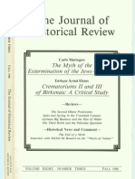 The Journal of Historical Review Volume 08 -Number- 3-1988