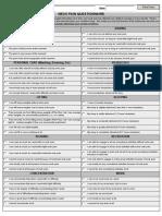 Neck Pain Questionnaire Form